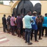 EFCC Arrests 30 Suspected Yahoo Boys In Ilorin (Photos)