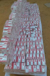 42 notorious thugs, 21 drug dealers, were arrested by police and dangerous weapons and illicit drugs worth over N32m was recovered in Kano