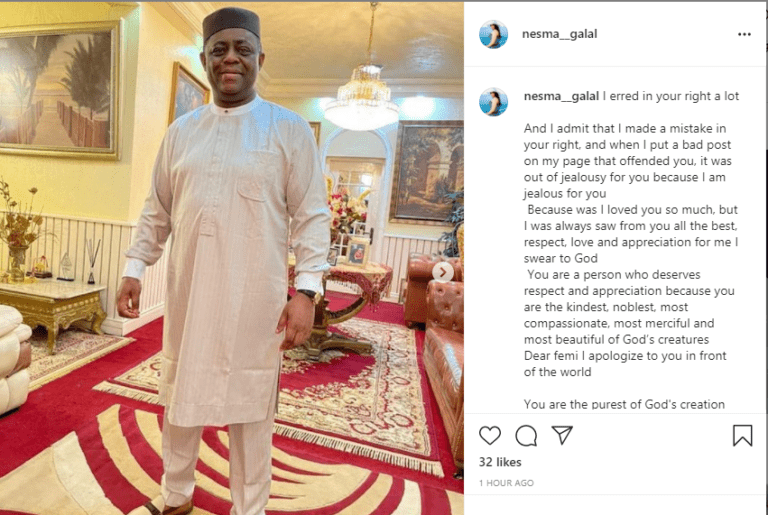 FFK's former Egyptian lover apologizes after calling him a 'hallucinogenic man and a liar'
