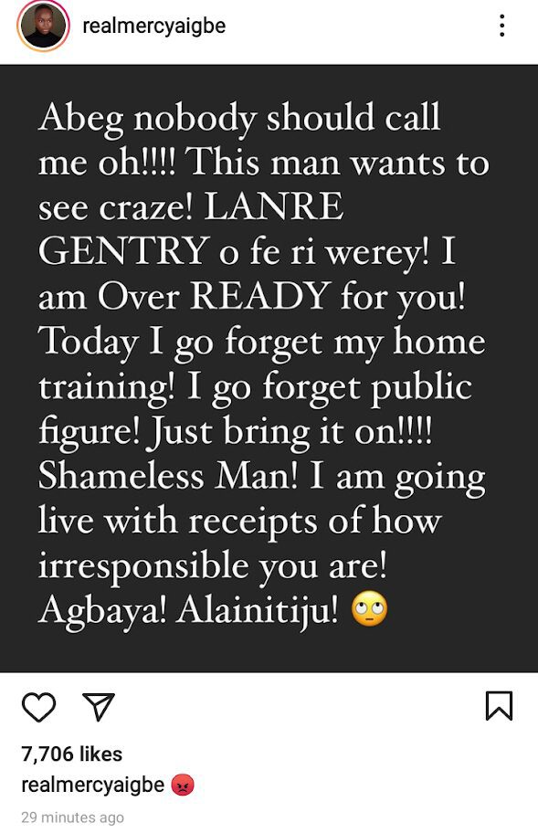 """Mercy Aigbe's EX Husband Threatens To Reveal Her """"Inhuman And Prostitution Acts"""" With Movie Marketers, She Responds"""