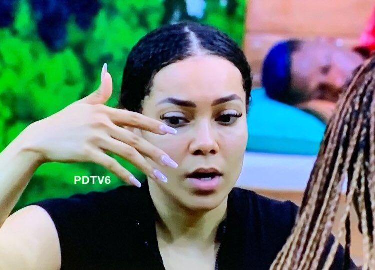 #BBNaija: Maria has dominated the whole housemates to emerge as the most talkative
