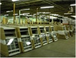 Warehouse of windows