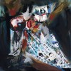 autoportret_colaj arta digitala si acrilic pe panza_ alina manole