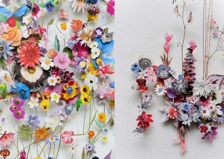 Designvondst bloemknipkunst  INTERIOR JUNKIE