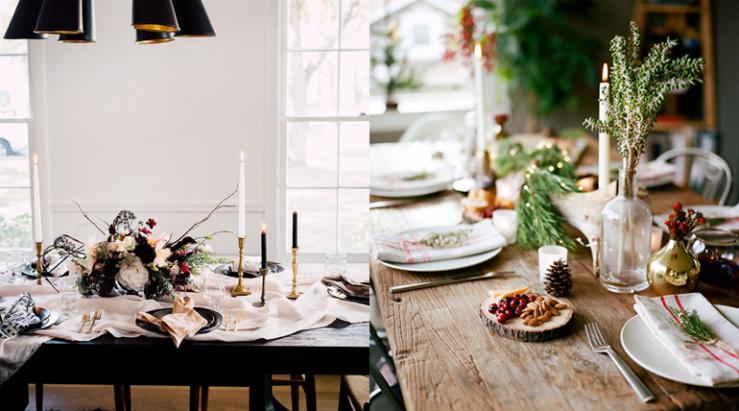Dek je tafel kerstproof met deze items  INTERIOR JUNKIE