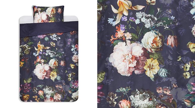 Slaap met dit dekbedovertrek onder een deken van bloemen