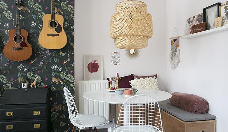 Compacte woonkamer Kies voor een ronde tafel  INTERIOR