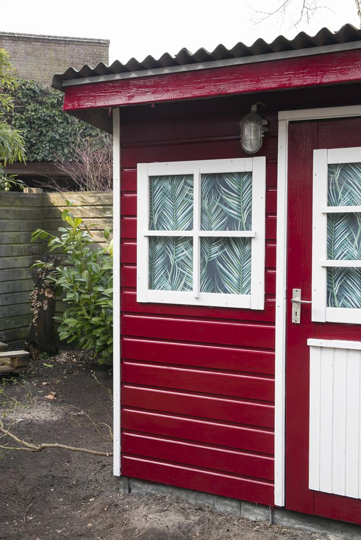 Stap 2 van mijn tuin make-over: mijn tuinhuisje pimpen!