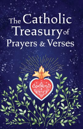 """catholic treasury of prayers and verses"""