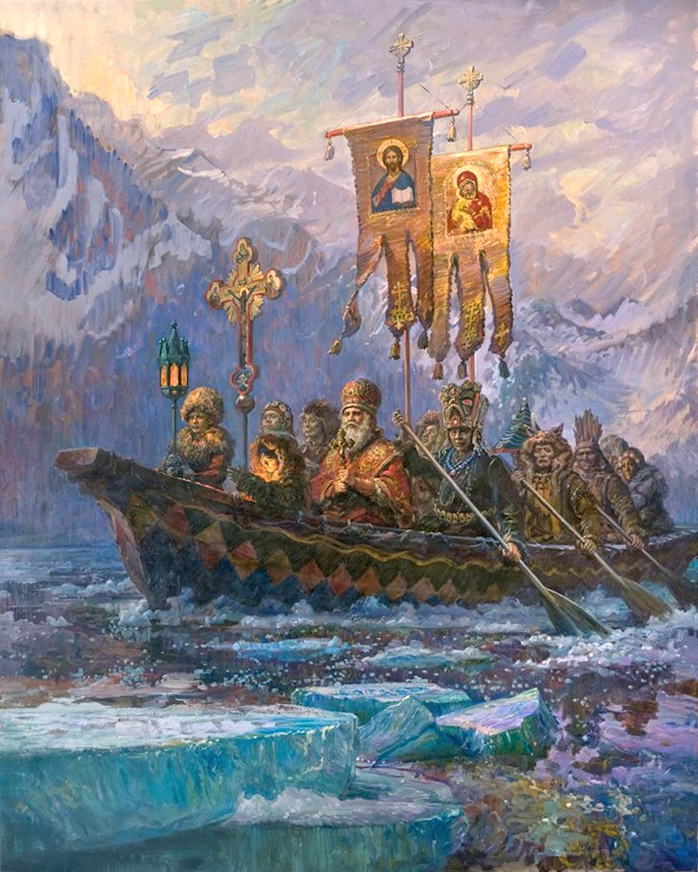 St Innocent Of Alaska Art In Faith