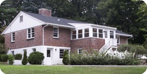 ABC's Glendarcy House on North Avenue. Scholars spend some weekends with host families.