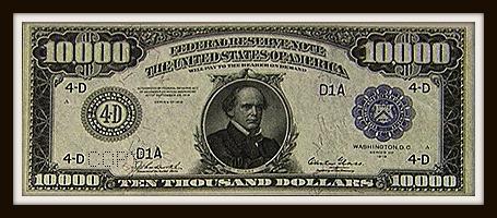 10,000 bill