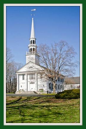 Saugatuck Congregational Church today.