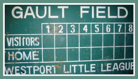 Gault Field, on the river side of Imperial Avenue, brought Little League baseball to Westport.