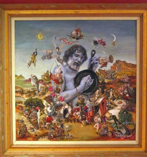 Eric von Schmidt created this cover art for his own 1977 album.