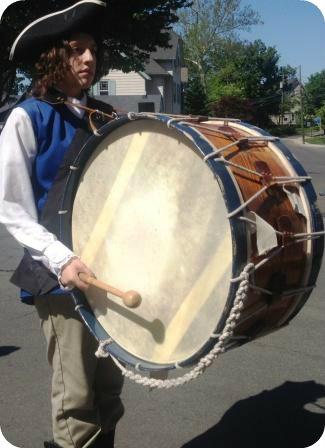 What's a Westport Memorial Day parade without an imported fife- and-drum corps?