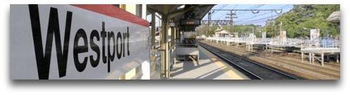 Train station drop shadow