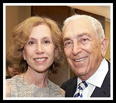 Sen. Frank Lautenberg and his daughter Ellen.