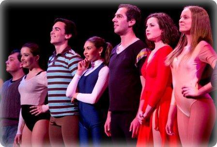 """An intense """"Chorus Line"""" moment."""