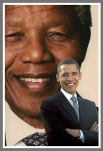 Two presidents in the South African news.