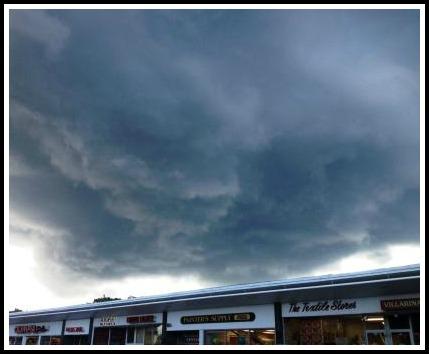 Westport CT storm July 23, 2013 - Dan Woog