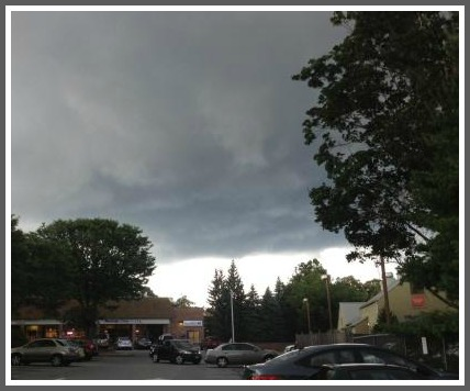 Westport CT weather - Playhouse Square July 23, 2013