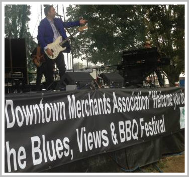 Music on the main stage runs the gamut -- but the blues influences every genre.