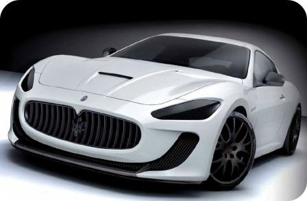 Green's Farms' narrow, hilly roads are perfect for a Maserati test drive.