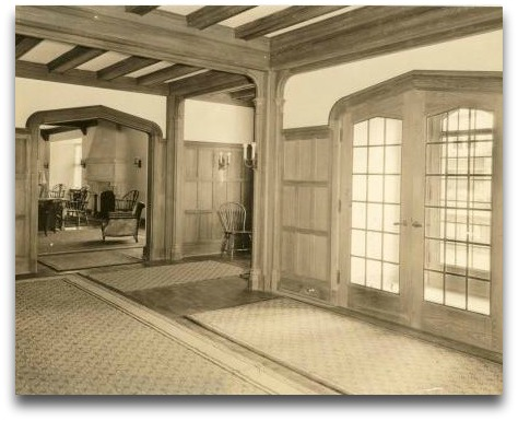 The Bedford Building lobby in 1923. Former staffers and ex-members can see it again on June 16.