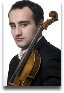 Igor Pikayzen. master violinist.