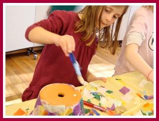 Creativity flourishes in Joyce Bottone's classes.