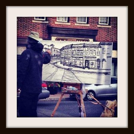 Westport artist by Dawn Matera
