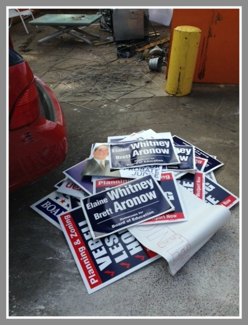 Campaign signs 1
