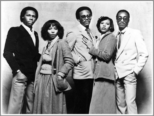 "NIle Rodgers with Chic (""Le Freak"") -- back in the day."