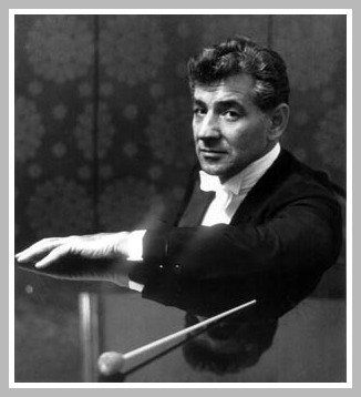 Leonard Bernstein, back in the day...