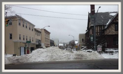 Main Street closed - Feb 13 2014