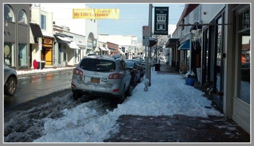 Merchants are responsible for keeping their sidewalks clean. The WMDA is making sure they do it well.