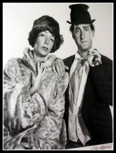 Sid Caesar and Imogene Coca