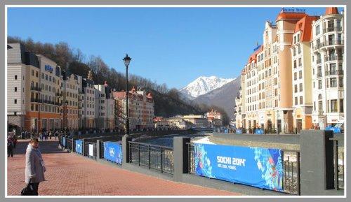 The scene in Sochi. (Photo/Susan Izzo)