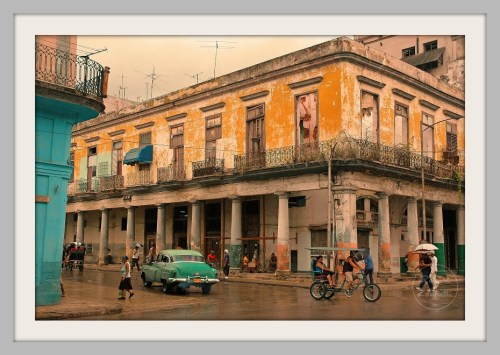"""Cuban Building"" -- glicee print on matte, by Robert Zannetti."