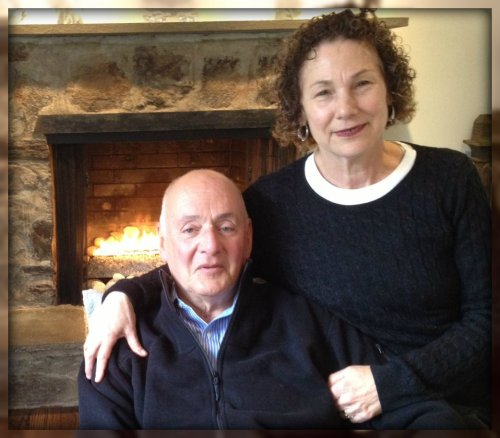 Bob and Judy Rosenkranz, in a rare quiet moment at home.