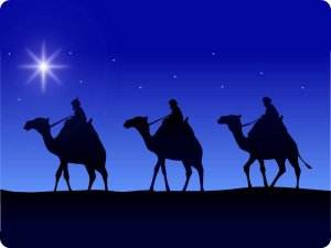 """Not the """"wise men"""" Judy and Bob met. These guys don't play tennis."""