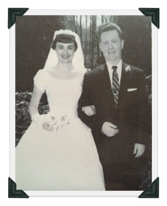 Jack and Mollie Donovan, on their wedding day.