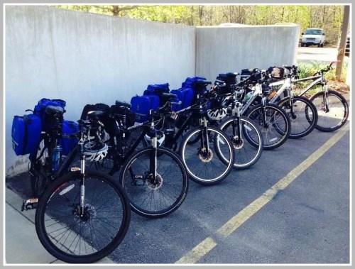 The bike fleet.