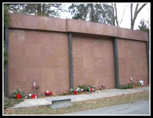 The Willowbrook mausoleum.