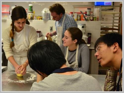 Two Hwa Chong students enjoy Culinary class.