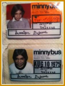 Jennifer DeJesus Sabella's 1975 and '76 Minnybus passes.