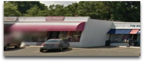 Top Drawer. When this Google Street View photo was taken, the Boat Locker was next door.