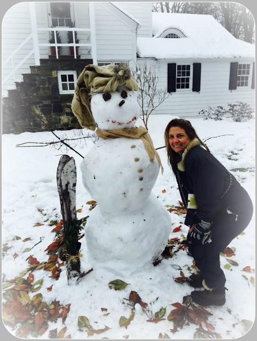 Mersene snowman