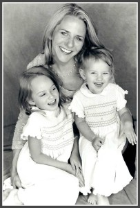 Bobbie Rhoads and her daughters, around the time FunBites was founded.